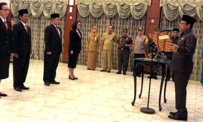 Walikota Malang Lantik Empat Pejabat Pimpinan Tinggi Pratama