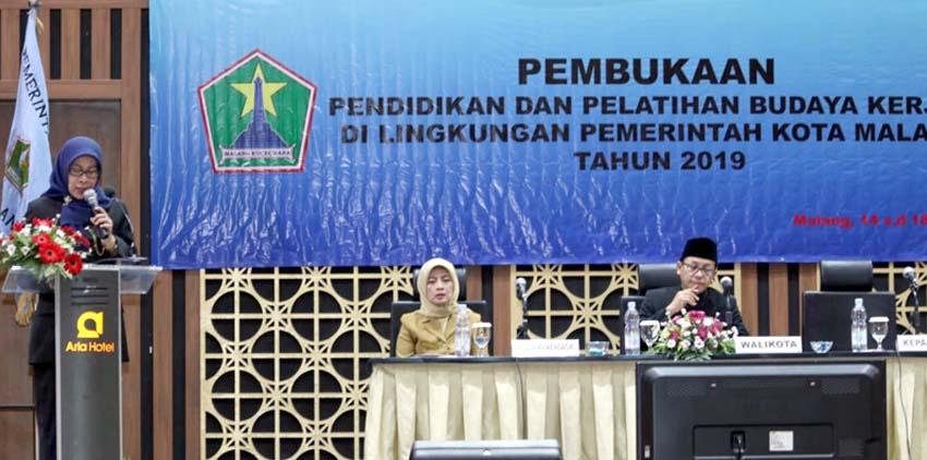 BKD Kota Malang Gelar Diklat Budaya Kerja Bagi ASN