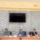 audiensi digelar di Ruang Rapat Petugas Pajak Daerah, Kantor BP2D Kota Malang, Jumat (18/10)