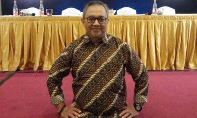 Dian Rusdianto, saat di Hotel Haris Vertu Hotel Jakarta
