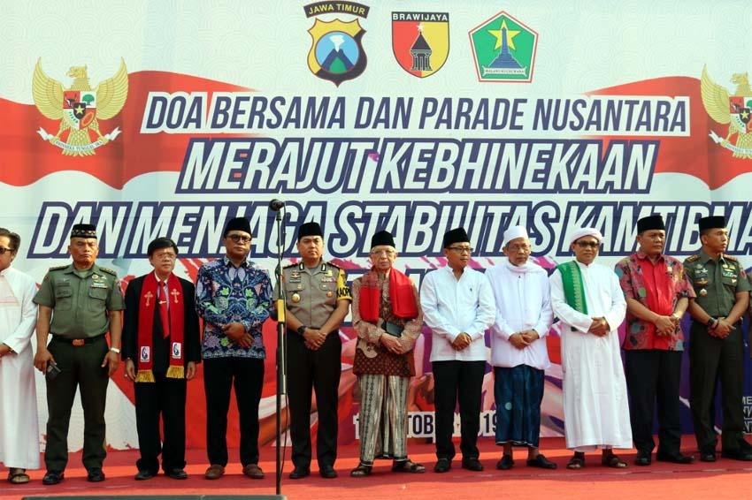 Doa Bersama Forkopimda dan Masyarakat, Komitmen Jaga Malang Selalu Kondusif
