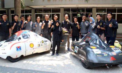 Empat tim KMHE bersama kendaraan Appate Marsheilla, yang akan berlaga di SEMM Asia 2020 di Malaysia. (adn)