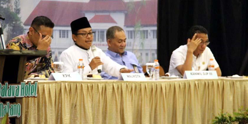 Komitmen Cegah Korupsi, Pemkot Malang Segera Terapkan Pelayanan Pajak Berbasis Online
