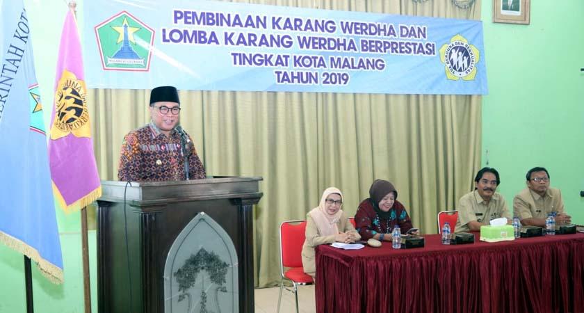 Pembinaan Karang Werdha Berlanjut ke Wilayah Kecamatan Lowokwaru