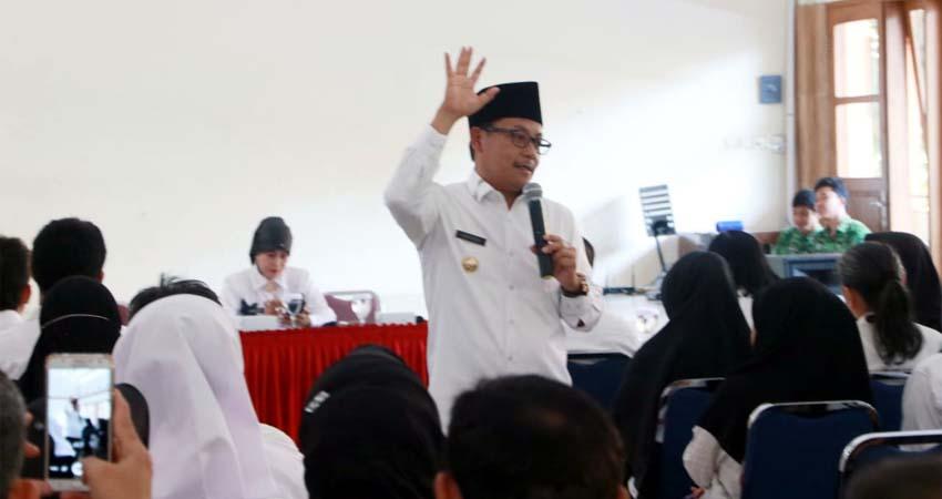 Walikota Sutiaji Kepala Sekolah Harus Jalankan Fungsinya Sebagai Leader dan Manager
