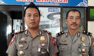 Kasat Lantas Polres Malang Kota AKP Ari Galang Saputro SH SIK. (gie)