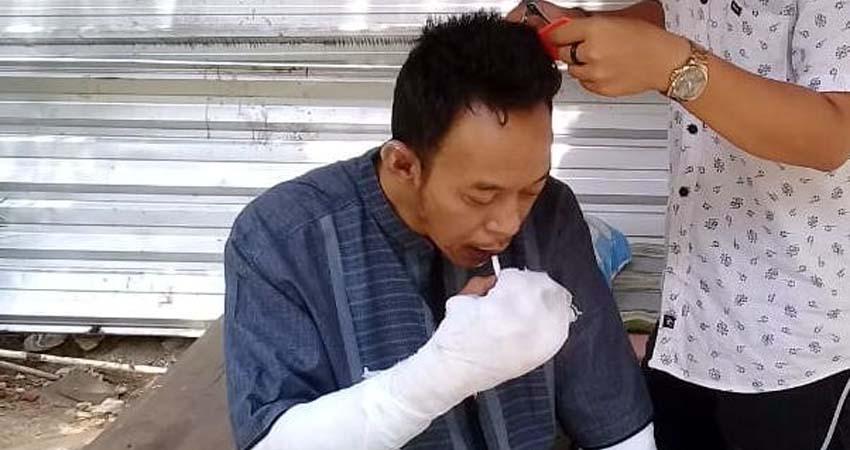 KORBAN : Yusuf saat ini dalam perawatan di RSI Unisma. (ist)