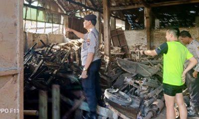 65 : Kapolsekta Blimbing Kompol Hery Wahyu Widodo saat berada di lokasi kejadian.(ist)