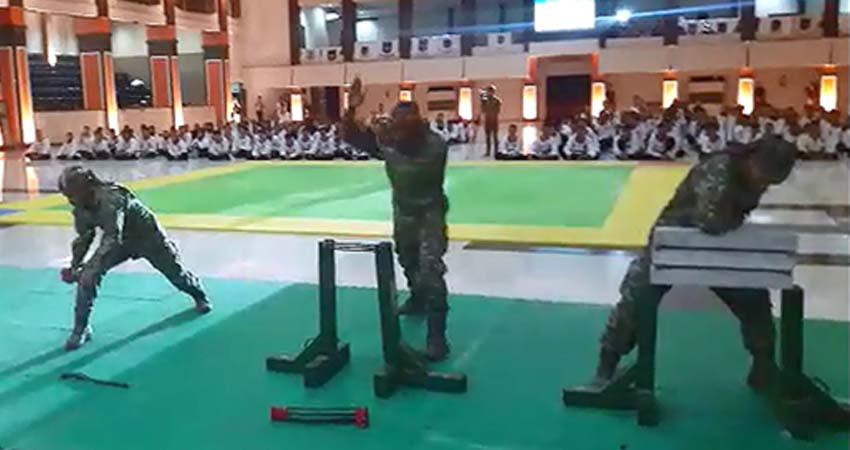 485 Pesilat Merpati Putih Bertarung Sengit, Berebut Piala Pangdivif 2 Kostrad dan Piala Rektor Univeritas Brawijaya