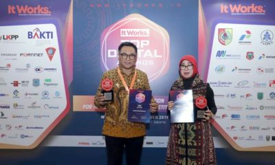 Kota Malang Raih Top Digital Award 2019, Boyong Dua Trophy