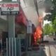 Bensin Tumpah, Kios Tambal Ban Terbakar
