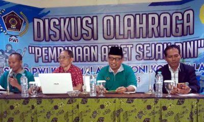 Diskusi Olahraga PWI Malang, Mau Prestasi Dindik, Dispora dan KONI Wajib Terapkan Sport Science