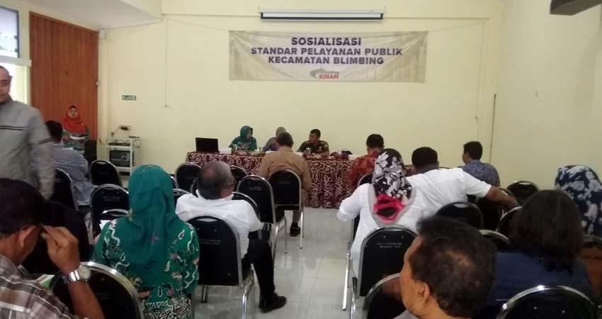 Kecamatan Blimbing Gelar Uji Publik SOP Pelayanan