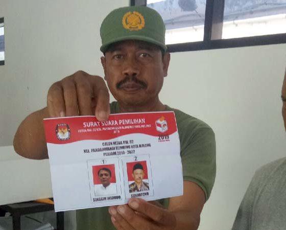Pemilihan Ketua RW 2 di Pandanwangi Kecamatan Blimbing Tak Kalah dengan Pilkada