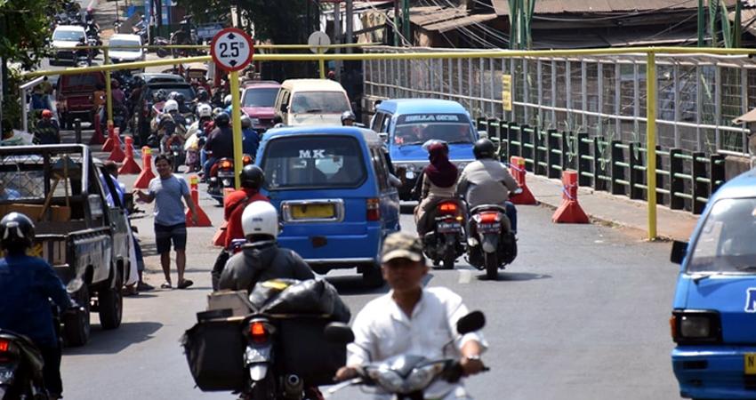 Jembatan Muharto Kota Malang, Ditutup Total Mulai 15 sd 21 Desember 2019