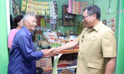 Bung Edi Kunjungi Pasar Sawojajar, Wacanakan Gelar Event Kreatif Inovatif