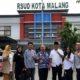 Direktur RSUD Kota Malang, dr. Umar Usman saat menerima kunjungan Komisi D DPRD Kota Malang beberapa waktu lalu