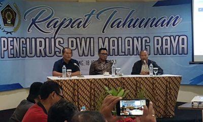 PWI Malang Gelar Rapat Tahunan, Wawali Sofyan Edi Ingatkan Dis Konten Informasi