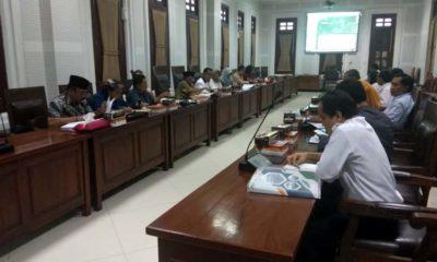 Hearing Komisi B DPRD Kota Malang dengan Perumda Tugu Tirta pada Rabu (15/1) sore.(kik)