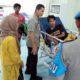 Kapolresta Malang Kota Kombes Pol Dr Leonardus saat kunjungi korban di IGD RSSA Malang. (Ist)