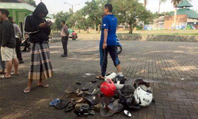 Tawuran Pelajar GOR Ken Arok, Buntut Pertandingan Futsal, Ada Sajam