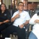 Ketua Komisi D DPRD Kota Malang, Ahmad Wanedi didampingi beberapa anggotanya saat ditemui di ruang kerjanya.(kik)