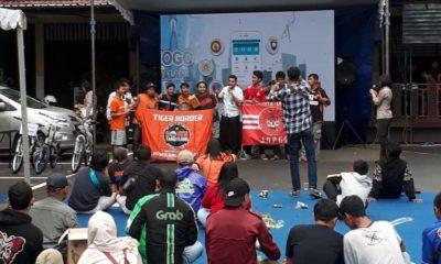 Final Piala Gubernur Jatim, Polresta Malang Kota Nobar Bersama Jakmania dan Aremania