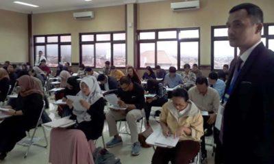 Peserta UPA DPC Peradi Malang. (gie)
