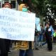Tolak Omnibus Law, Puluhan Mahasiswa di Kota Malang Gelar Demo
