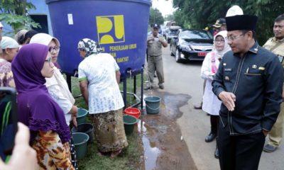Walikota Malang Tinjau Warga Terdampak Air Mati di Wilayah Tlogowaru