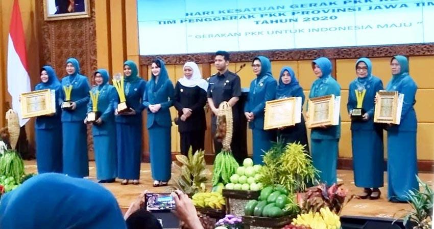 PKK Tulus Rejo Kota Malang, Raih Juara 3 Pelaksana 10 Program PKK Tingkat Provinsi