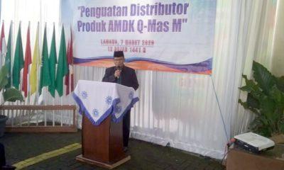 Q-Mas M Silaturahmi bersama Distributor, Ketua PWM Jatim Mantapkan Jihad Ekonomi
