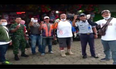 Relawan JFI dan Jaka Malang, Bagikan Hansa Gratis di Stasiun Kota Malang dan Pasar Singosari