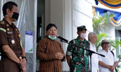 Malang Covid-19 Walikota Serahkan Bilik SiCo bagi Instansi dan Masyarakat