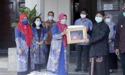 Ikatan Akuntan Indonesia Serahkan Bantuan Penanganan Covid-19 ke Pemkot Malang