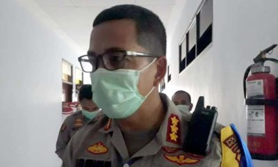 Kapolresta Malang Kota Kombes Pol Leonardus Harapantua Simarmata Permata S Sos SIK MH. (gie)