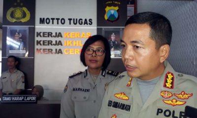 Kapolresta Malang Kota Kombes Pol Leonardus. (gie)