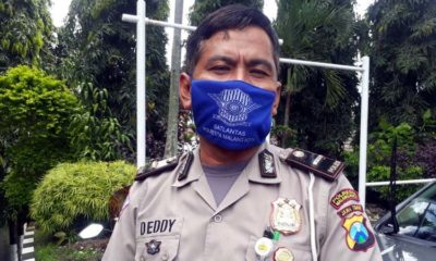Kasubnit 1 Laka Lantas Polresta Malang Kota Ipda Deddy Catur. (gie)