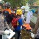 Pemotor Jatuh ke Selokan Tewas Mendadak, Evakuasi Protokol Covid-19