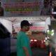 Pos Check Point Pencegahan Covid 19 di Batas Kota Malang inilah yang akan digunakan oleh petugas untuk menghalau para pemudik yang akan masuk Kota Malang. (gie)