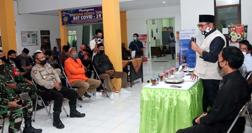 Kebut Sosialisasi PSBB, Sutiaji - Sofyan Edi Bergerak ke Kecamatan