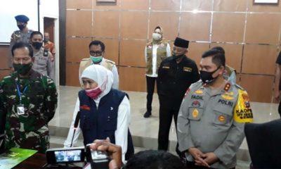 Gubernur Jatim Khofifah bersama Kapolda Jatim Irjen Pol. Dr. Drs. H.M. Fadil Imran, M.Si. (ist)