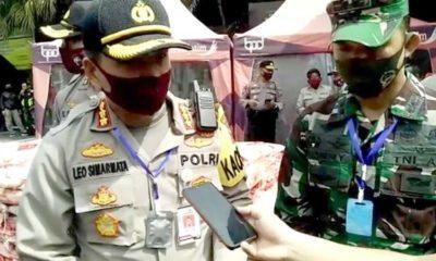 Kapolresta Malang Kombes Pol Dr Leonardus dan Dandim 0833 Letkol Inf Tommy Anderson. (ist)