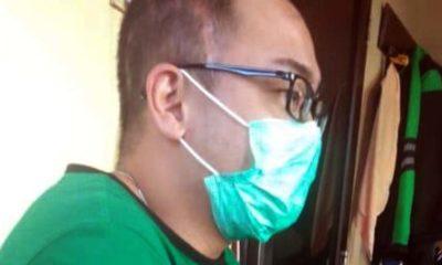 Andrie usai ditangkap petugas Polsekta Lowokwaru. (ist)