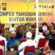 Launching Ponpes Baiturahman menjadi Ponpes Tangguh Semeru. (Ist)
