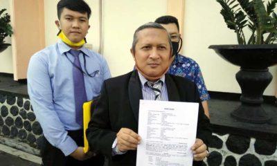 Indra Bayu SH kuasa hukum para penggugat di PN Kota Malang. (ist)