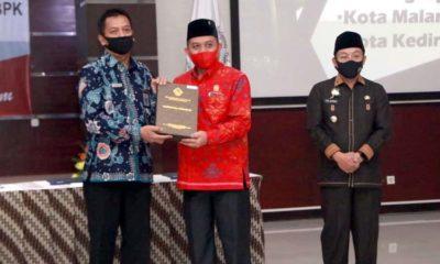 Kota Malang Raih Predikat WTP, Sembilan Kali Berturut-turut
