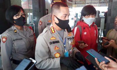 Kapolresta Malang Kota Kombes Pol Dr Leonardus Harapantua Simarmata Permata. (gie)
