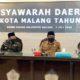 Musda FKUB, Walikota Malang Pesan Tingkatkan Kerukunan Antar Umat Beragama