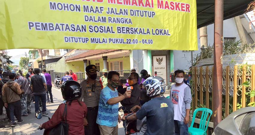 PSBL Mergosono, Warga Luar Kampung Harap Putar Balik